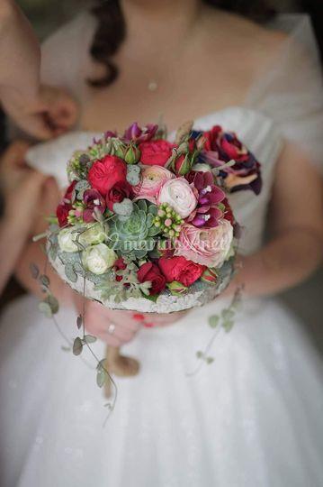 Bouquet de mariée sur mesure