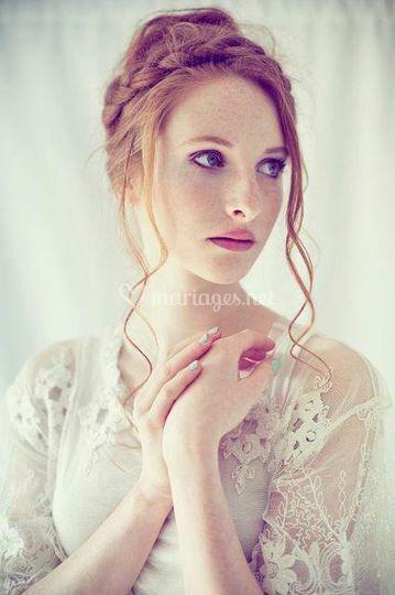 Mise en beauté  Mathilde