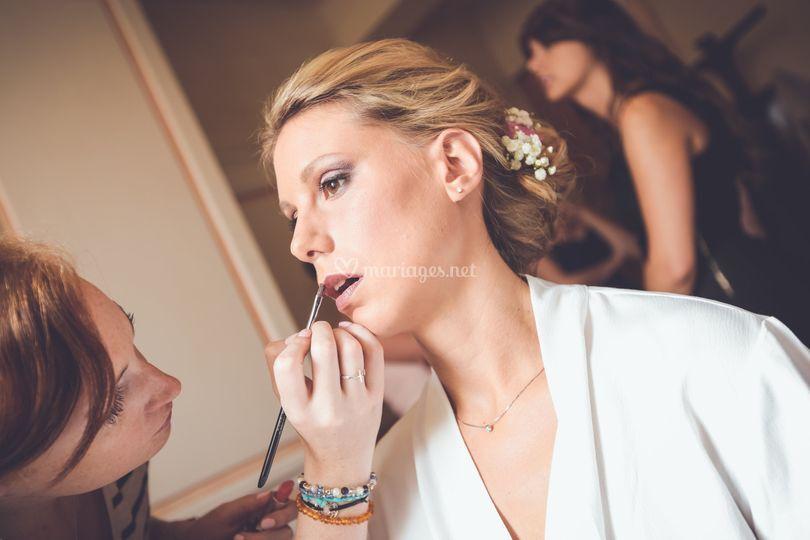 Maquillage mariée Alice