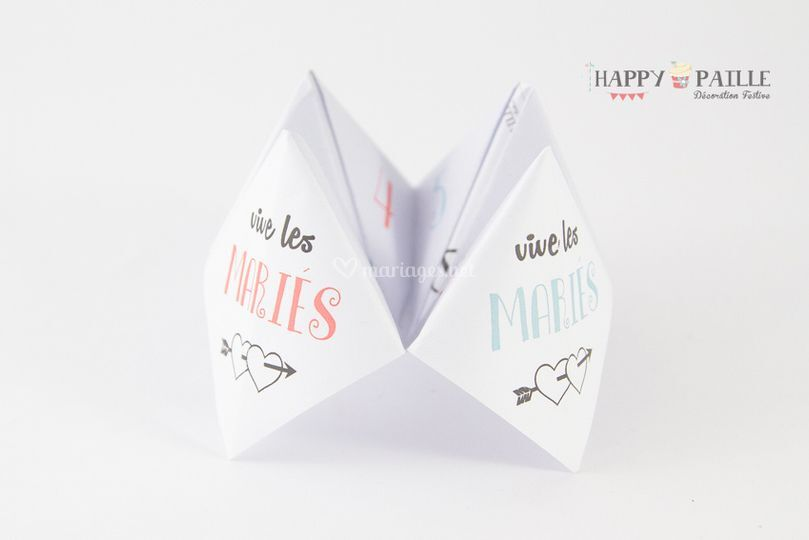 Flambant neuf Menu cocotte papier de Happy Paille | Photo 1 QP36