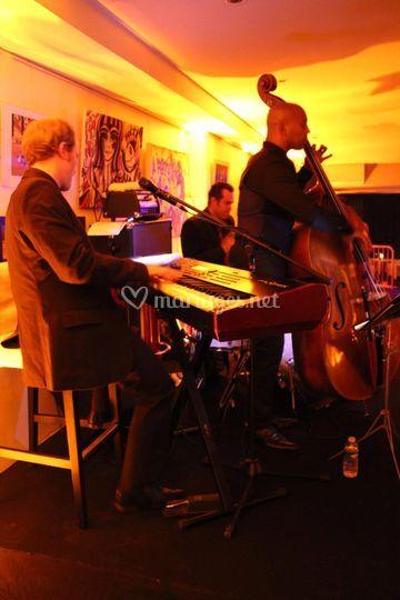 All in Jazz Band en représentation