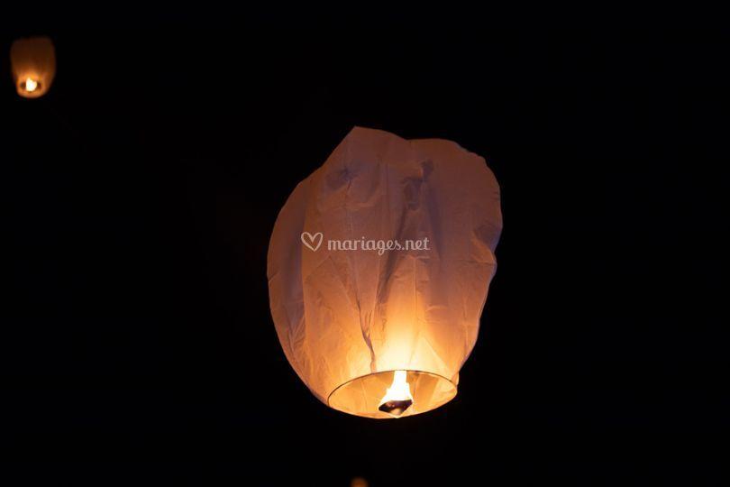Lâcher de lanternes !