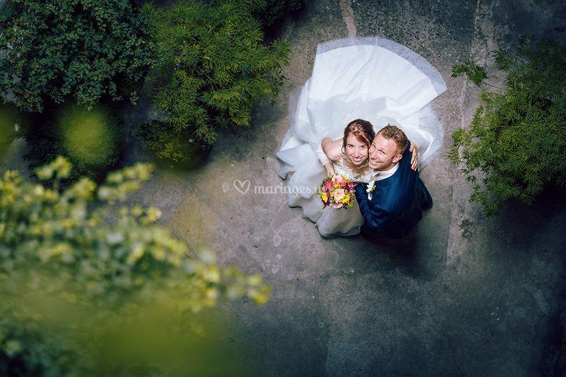 Photo couple mariage Chambéry