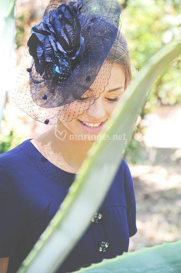Voilette Bleue Rita Von
