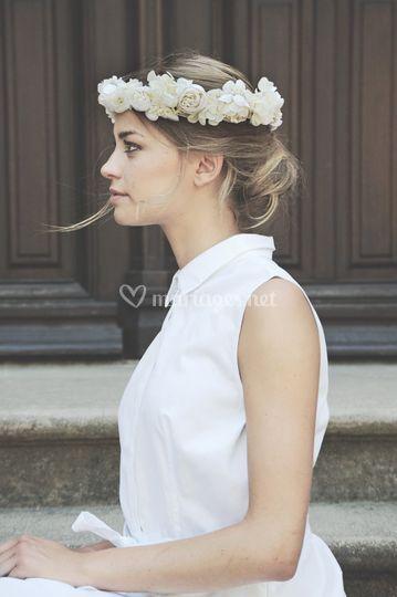 Couronne Fleurs Rita Von