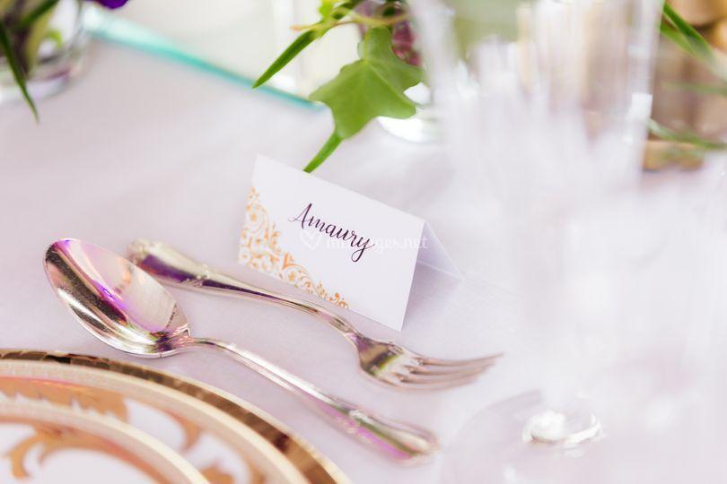 Mariage lyrique (table)