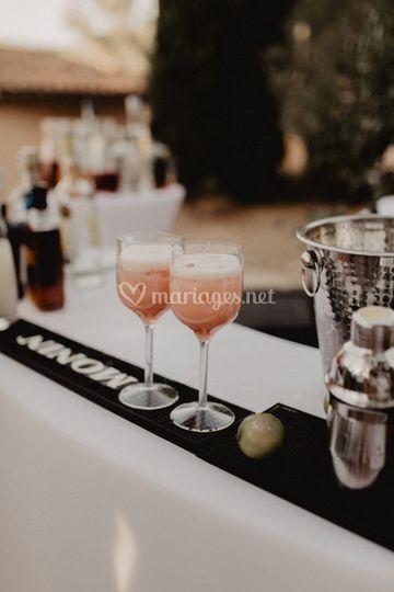 Cocktails minute