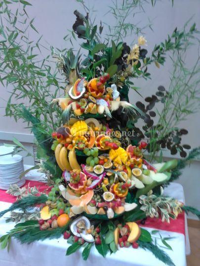 La pièce en fruits