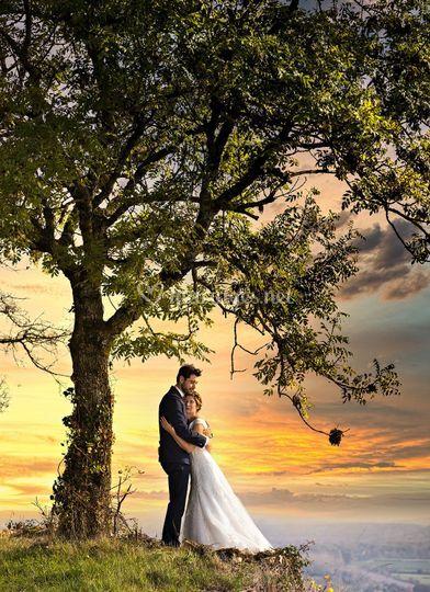 Mariage romantique Côte d'Or