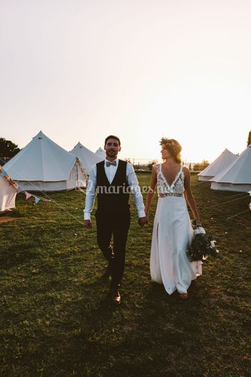 Wedding Camping dans le Gard