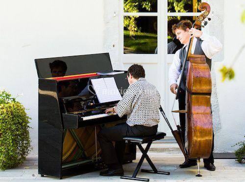 Piano jazz et contrebasse