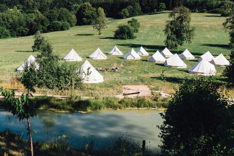 Wedding Camping en Alsace