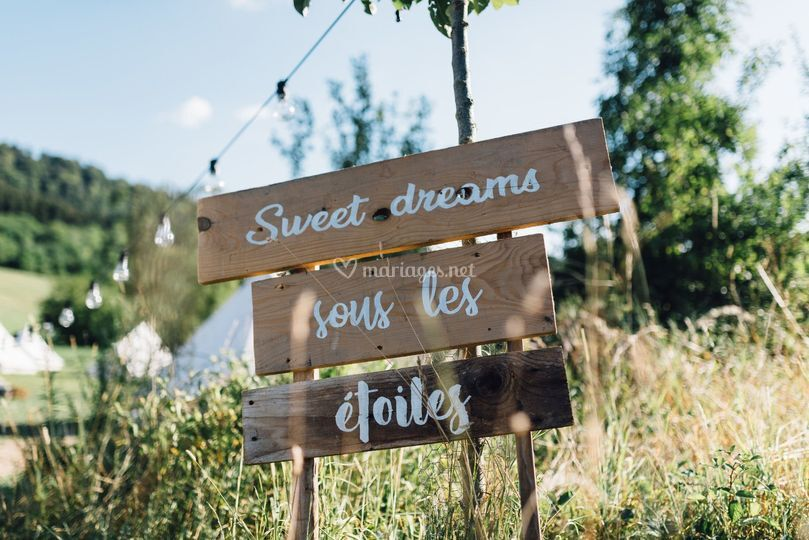 Sweet Dreams sous les étoiles