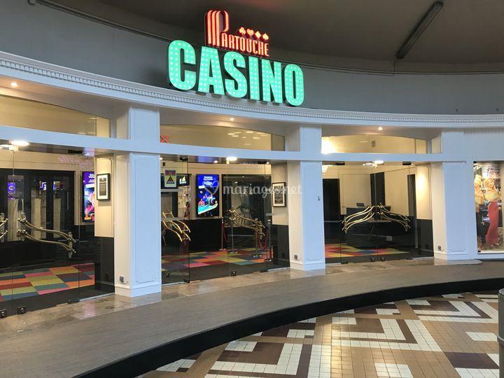 Entrée du Casino de Calais