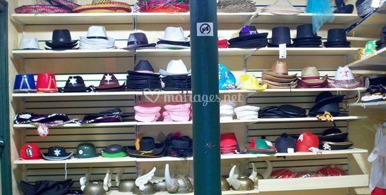 Types de chapeaux