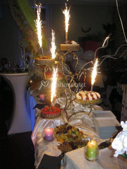 Dessert anniversaire