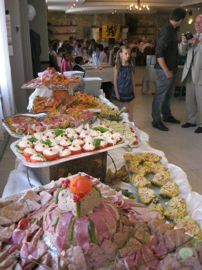 Buffet d'entrées