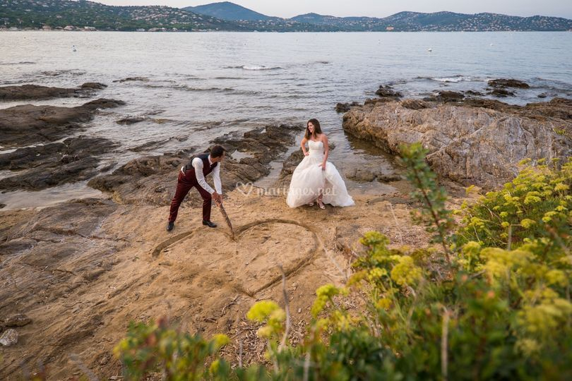 Justine & Romain, trash-the-dress