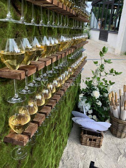 Notre mur à Champagne