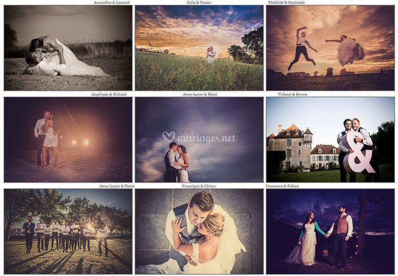 Photographe mariage sur Photographe Morin