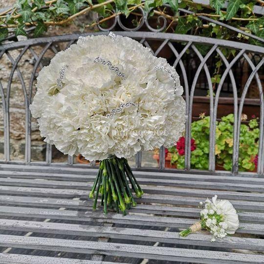 Bouquet oeillets