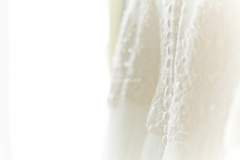 Robe de mariée sur CG Photographie