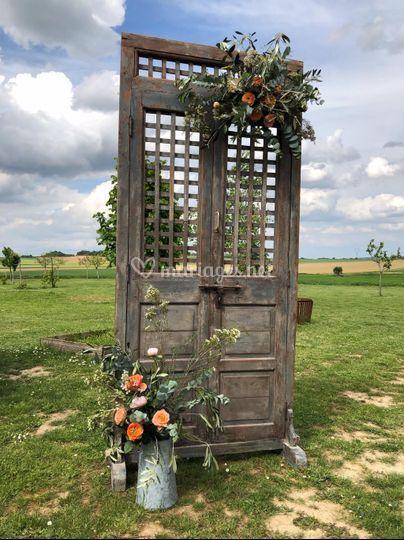 Porte pour Photo Booth