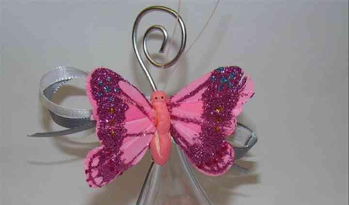 Avec détail de papillon