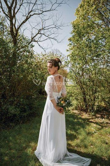 Robe de mariée bohéme
