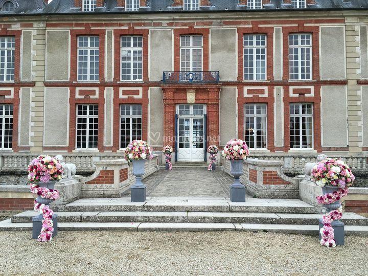 Fleurs Château de Breteuil