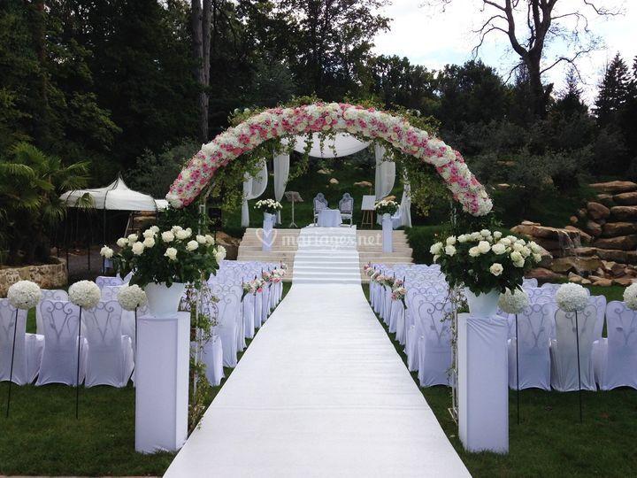 Arche florale Coudray Monceau