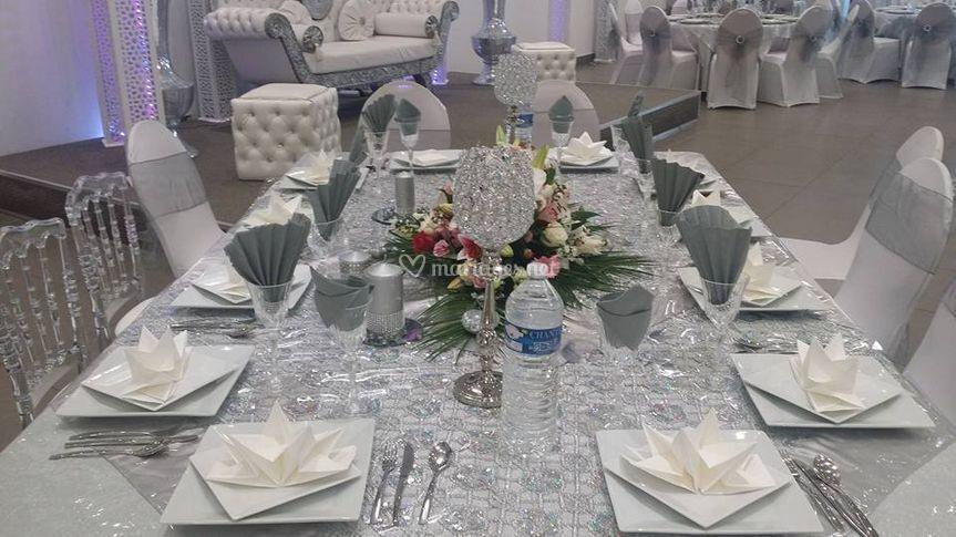 Tables décorées
