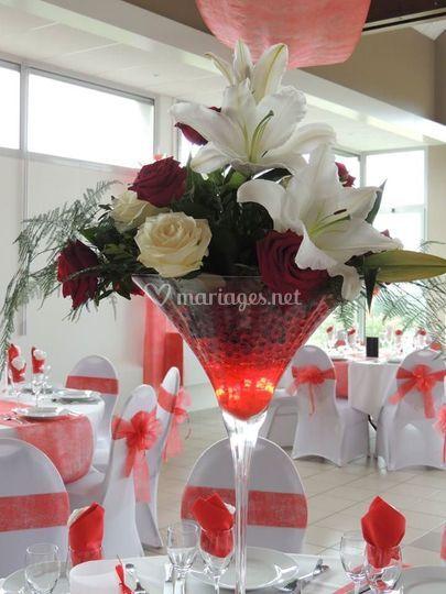 Décoration dans vase
