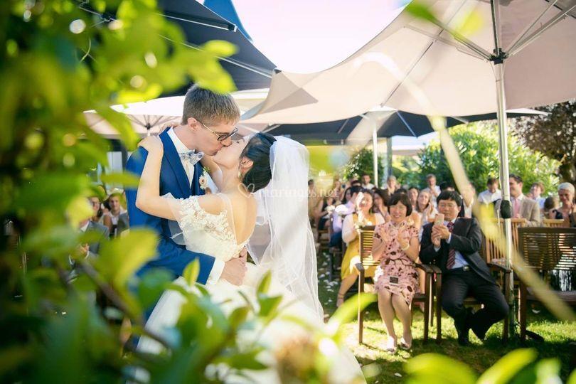 Mariés cérémonie