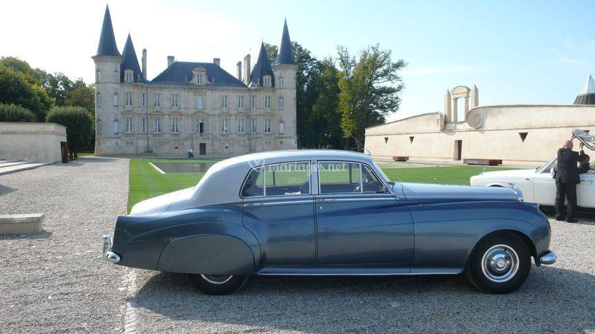 Bentley palace au Chàteau Pichon Longueville