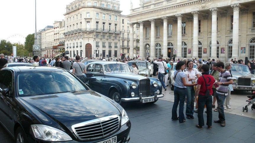 Bentley palace au Grand théatre