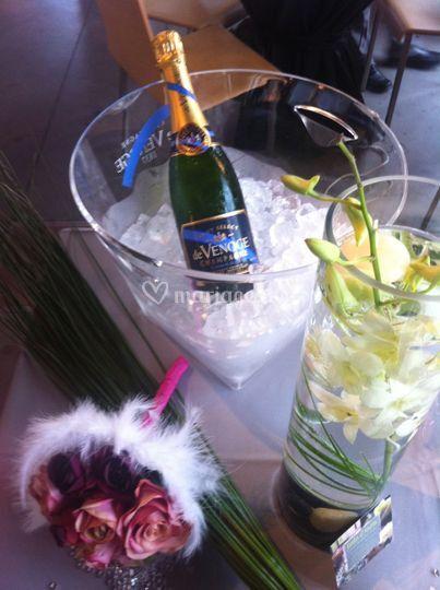Champagne du mariage