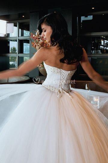 Robe crystalline princesse 975