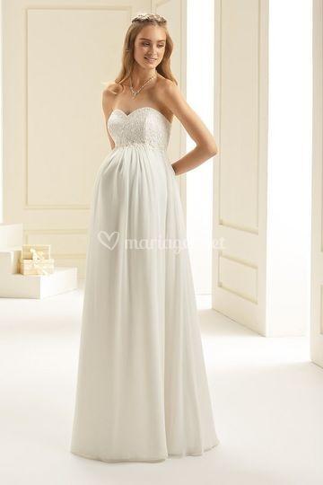 Robe bianco lydia