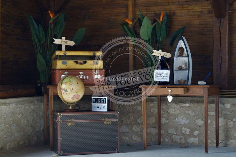 E&S - Tables urne & livre d'or