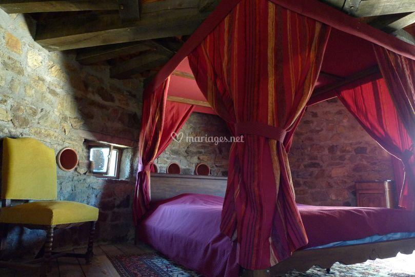 Chambre des mariés au chateau