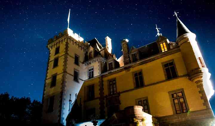 Château de nuit