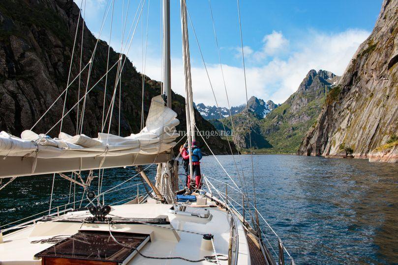 Norvège en voilier