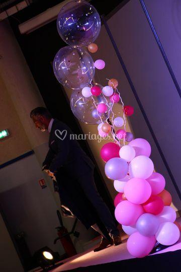 Colonne Bubbles & LED