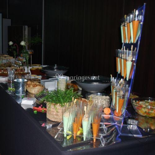 Exemple de buffet mariage
