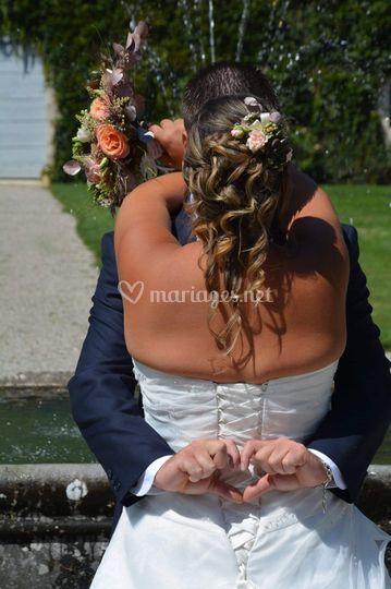 Mariage or rose