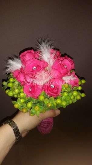 Bouquet strass