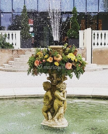 Décor de fontaine