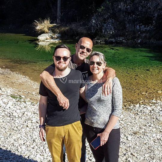 Catherine, Dimitri & Pascal