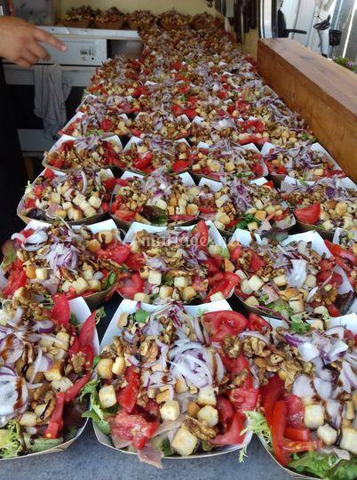 De belles salades